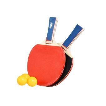 Two Sided Rubber Table Tennis Hands Shake Red Black Grip