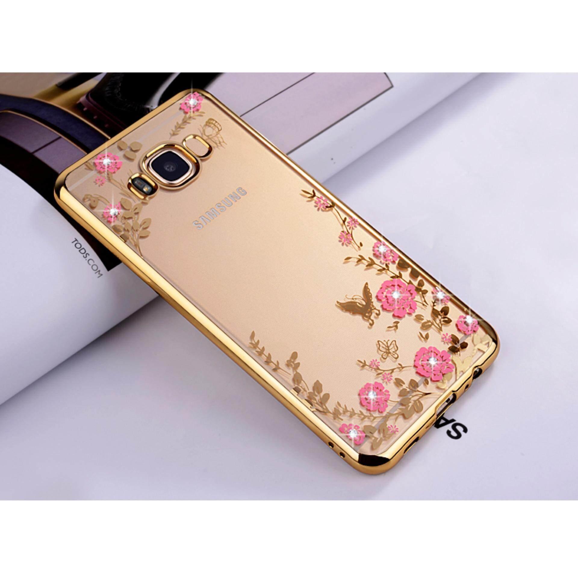 Electroplating Frame Soft TPU Protective Case intl Harga Spesifikasi For Samsung Galaxy J3 Love Bear Pattern