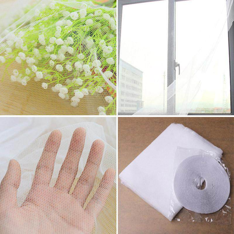 Aukey Storel 1Pc New White Large Window Screen Net Insect Anti Mosquito Bug Door Netting