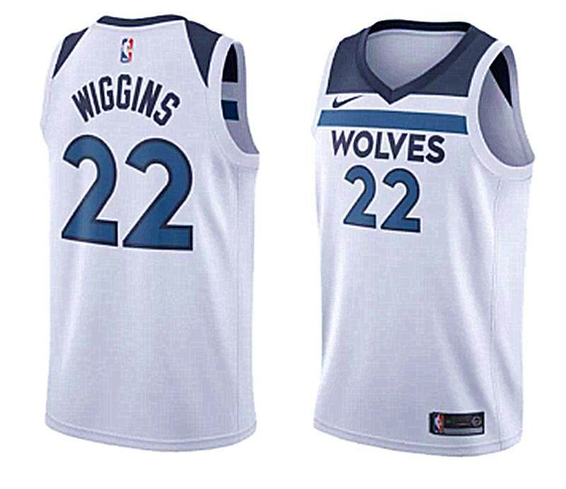 0fec7693806 Andrew Wiggins Basketball Clothes Num 22 For Male Swingman Jersey Minnesota  Timberwolves Amrican Team Color Authentic