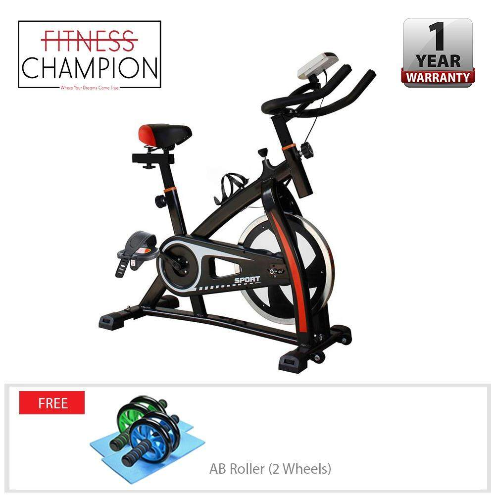 FITCHAMP  In-Door Exercise PRO Workout Cycling Bike - Black with FREE AB Roller  sc 1 st  Lazada & FITCHAMP : In-Door Exercise PRO Workout Cycling Bike - Black with ...