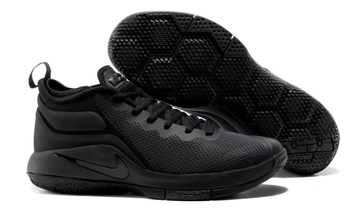 Nike LeBron Zoom Witness II Men s Classic Professional Basketball Shoe  Breathable Sport Sneaker (Black) 1075485819