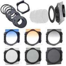 DOXIY GUARANTEE 6pcs ND2 ND4 ND8 Gradual 4 8 Filter Set 9pcs Ring Adapter – intl