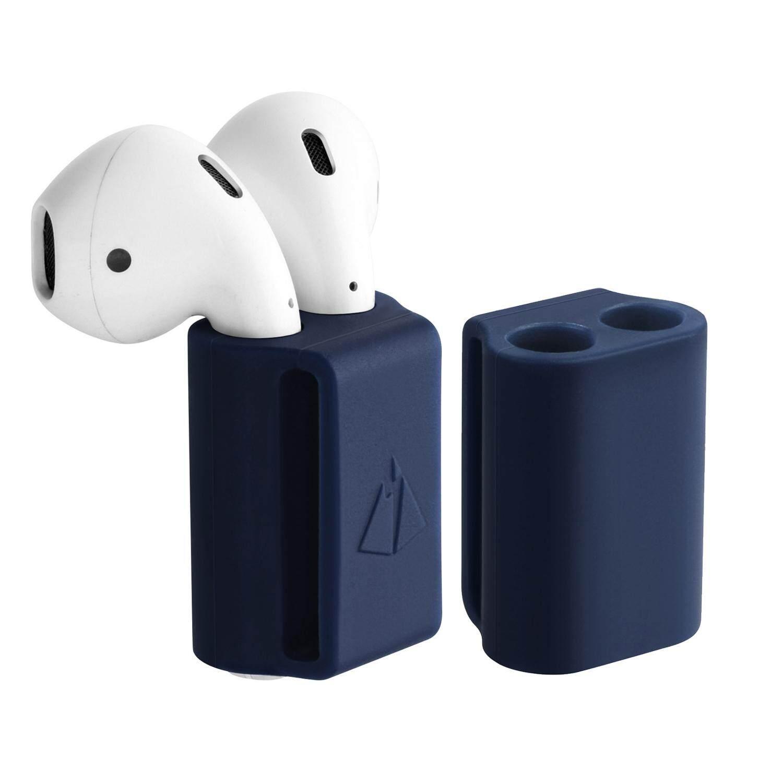 ดีที่สุดอันดับ1 หูฟัง thinch Portable Anti-lost Silicone Protective Support Stand Case Holder for Apple AirPod (Navy Blue/Black/White) - intl ถูกกว่านี้ไม่มีอีกแล้ว