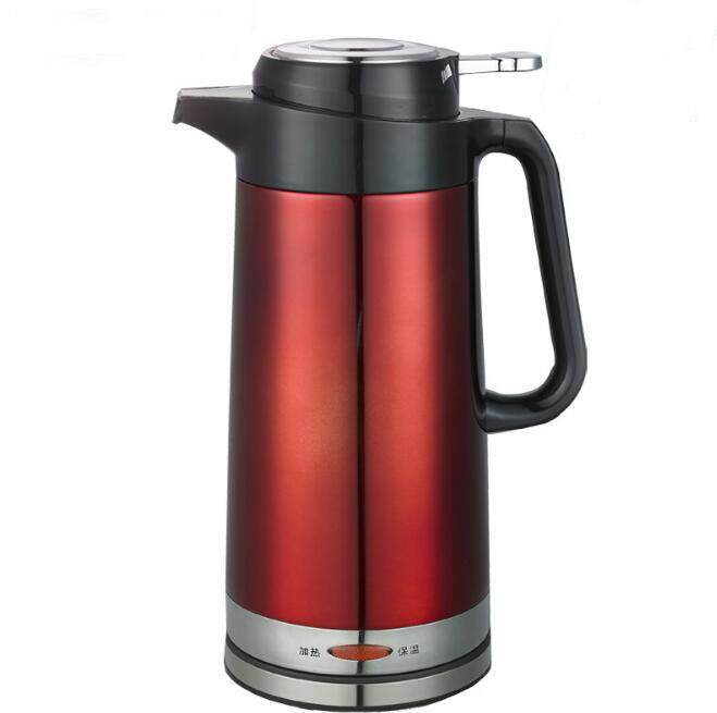 YC Household Health Electric Kettle Automatic Stainless Steel Double Layer Heat Preservation Electronic Kettle