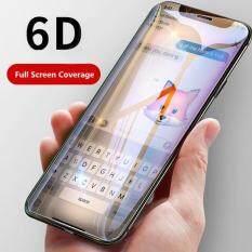Hexu 6D Tinh thể Lỏng Cho Iphone XS Max X XR 8 7 6 6 S 6 S Plus Kính Cường Lực miếng dán Màn hình