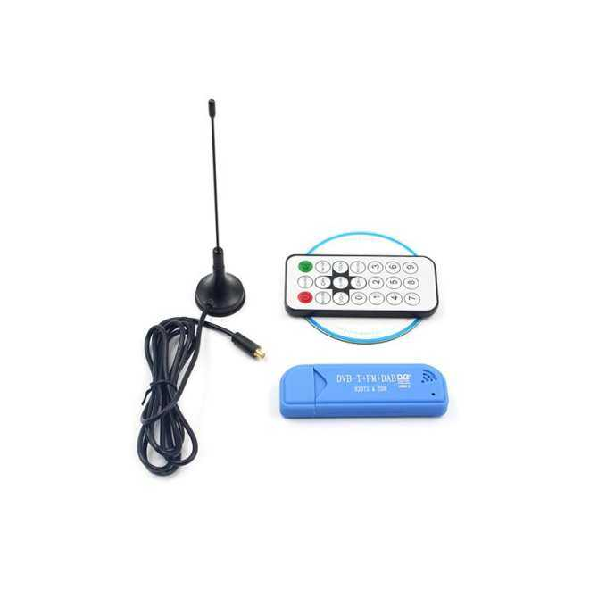 Usb Dvb-T/dvbt Penerima Saluran Antena + Dongle Dab + Fm + Sdr Rtl2832u + R820t2 Hdtv Digital Penerima Satelit Stik Tv By The Wangda8 Shop.