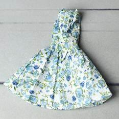 Mini VÁY ĐẦM Có Niên Đại Đeo Họa tiết Hoa Đầm Áo Quần Áo 30 cm Phụ Kiện Búp Bê Đồ Chơi Trẻ Em