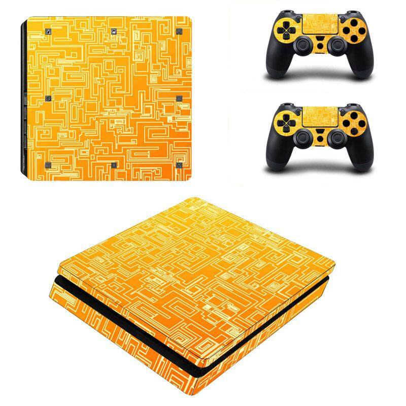 Sticker Console Decal Playstation 4 Controller Vinyl skin Vice City For PS4 Slim YSP4S-0021 - intl