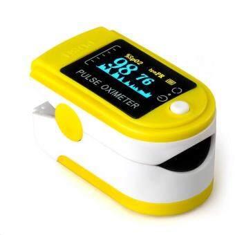 Beli sekarang Finger Pulse Oximeter Finger Oxygen Meter With Pulse Rate Monitor, (YELLOW) terbaik murah - Hanya Rp313.384