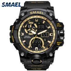 SMAEL Sport Watches for Men Waterproof LED Digital Watch Men's Wristwatch Clock
