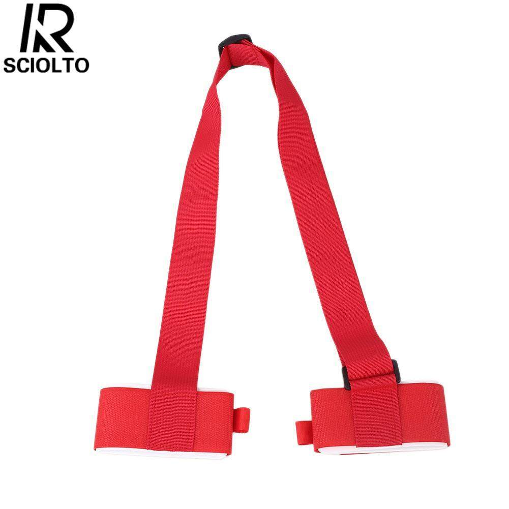 (Free Shipping for WM - Klang Valley,WM - Non Klang Valley,EM - Sabah)SCIOLTO SPORTS Cloth Entertainment Snowboard Carrier Lash Handle Blue Thick Red