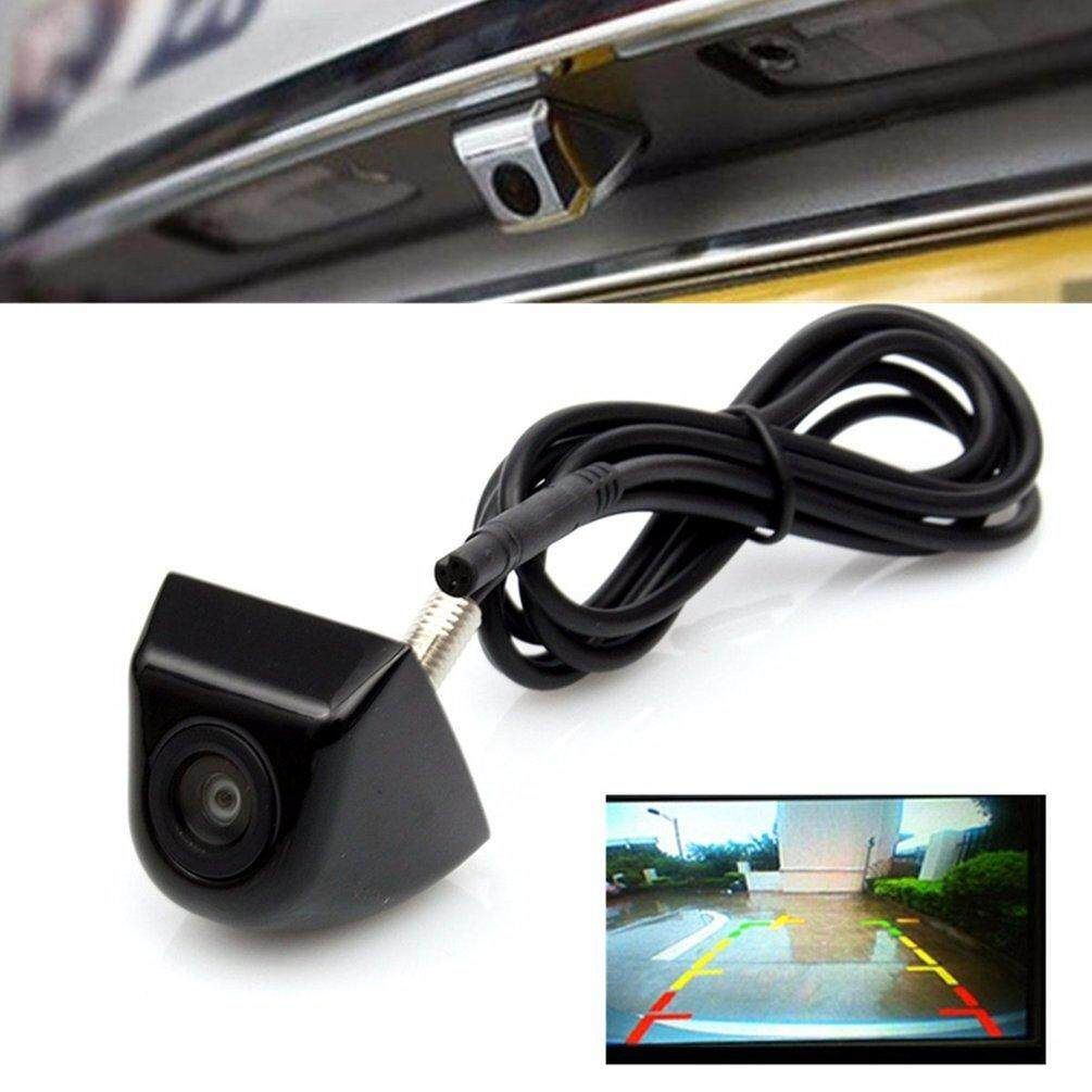 ELEC 170-Degree Waterproof Night Vision CCD Car Rear View Camera For Backup Parking Black