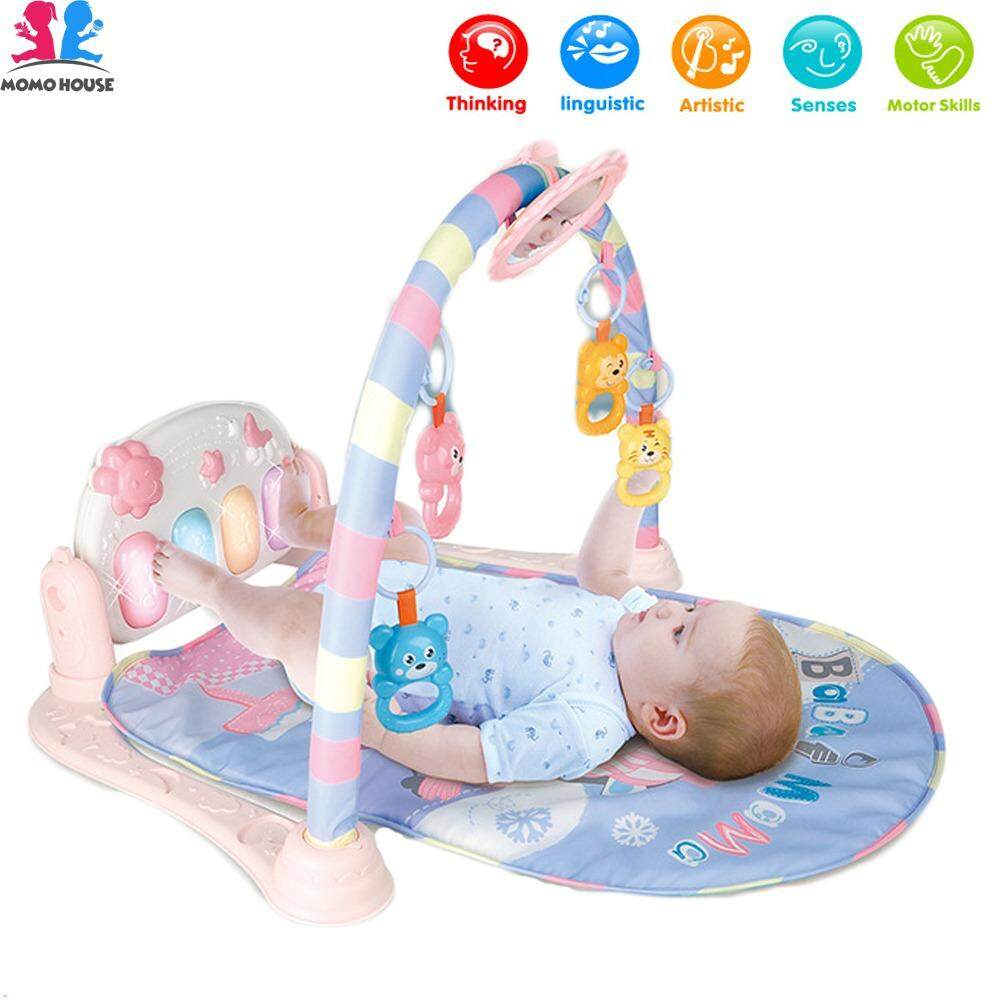 MOMO House Baby Toddler Playgym Playmat Play Gym With Music & Lights - Sky Version - Sale