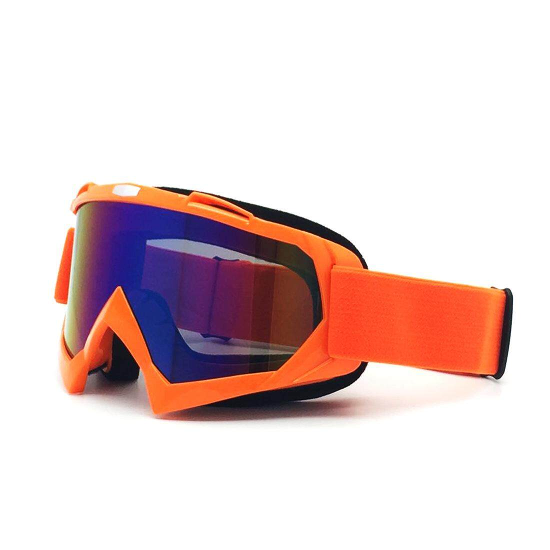 Outdoor Cycling Goggles Windproof Colorful Eyes Protector Skiing Lens