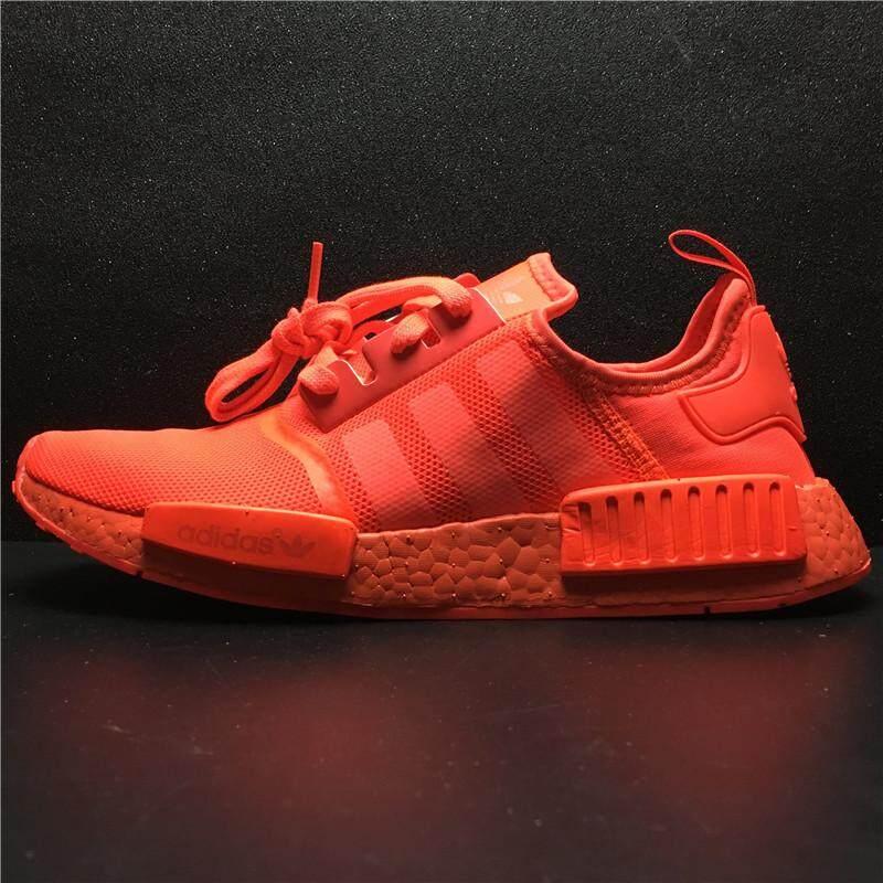 68e1d2de8 Original NMDS R1 Triple Red Solar Boost S31507 Men and Women Running Shoes  - intl