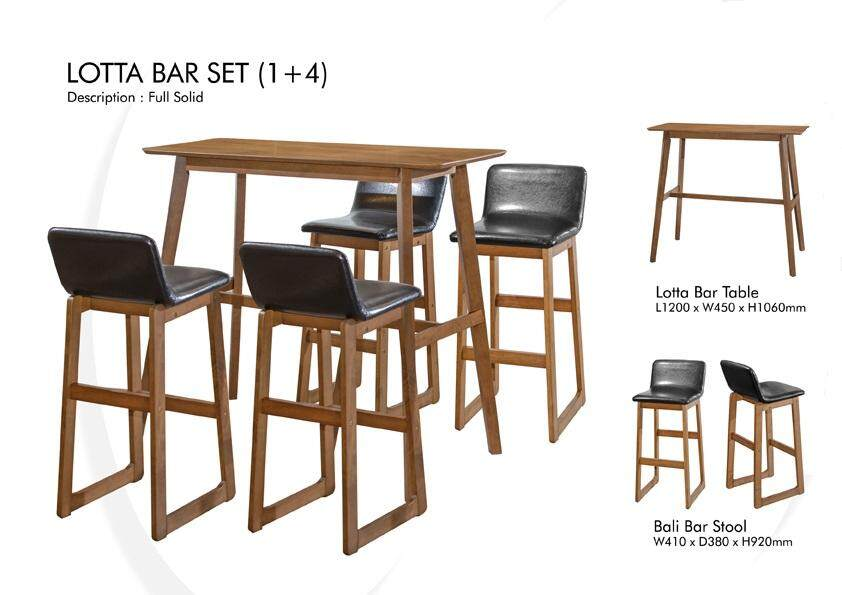 LOTTA BAR TABLE