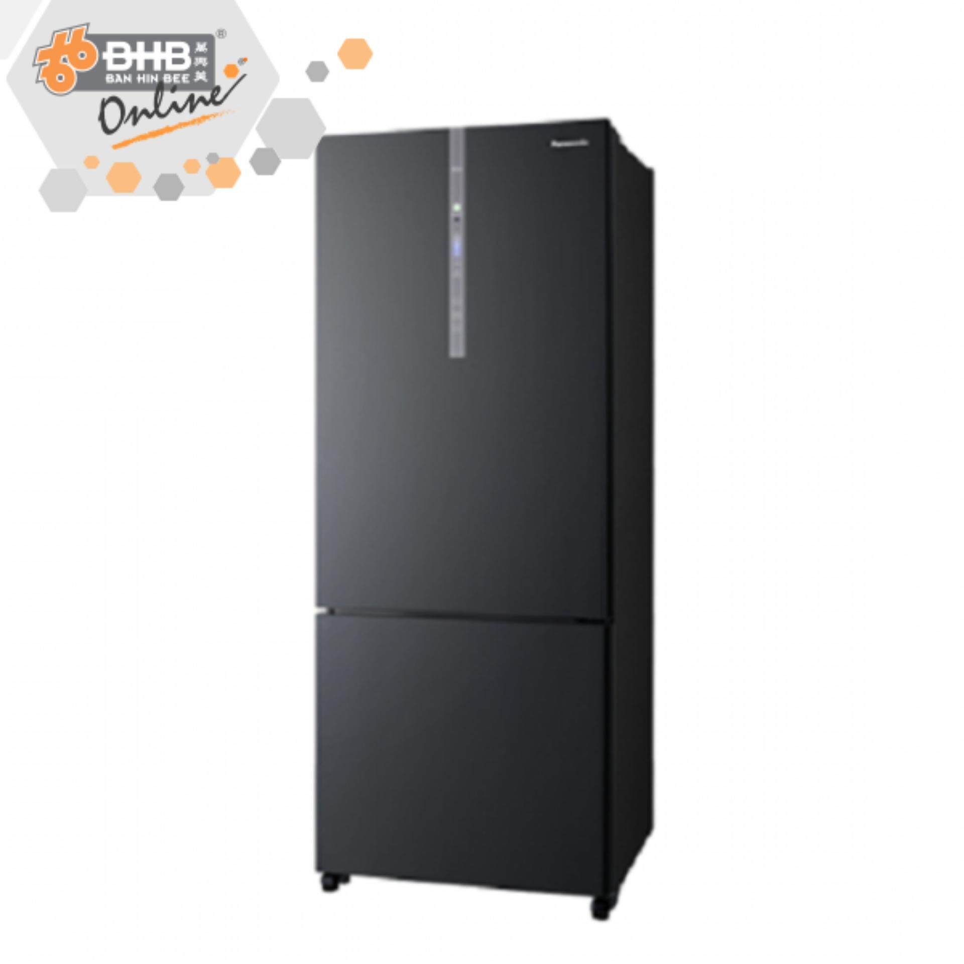 Panasonic NRBX468GK Fridge 2D 450L [Black] Inverter