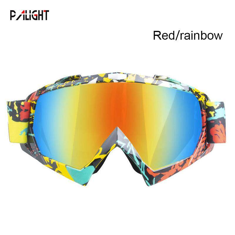 PAlight Motocross Goggles Glasses Windproof Fashion Durable For Cycling Racing Ski Sport