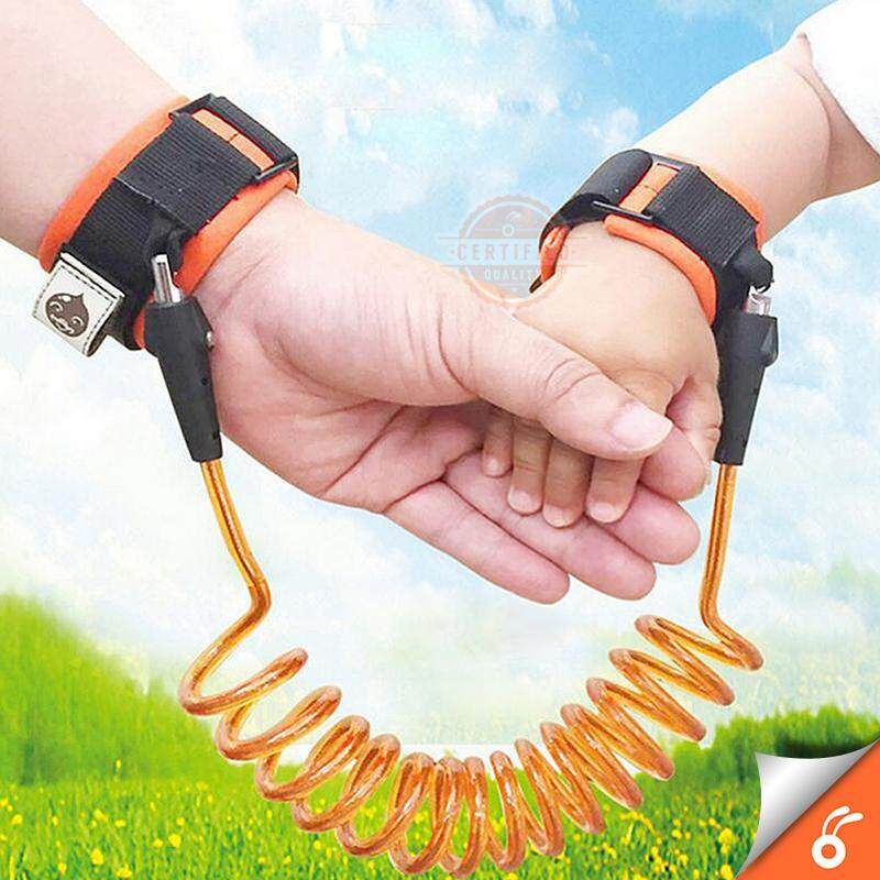 1.5M Adjustable Kids Anti Lost Wrist Band image on snachetto.com