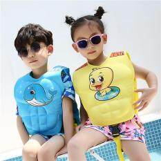1 Pcs Baby life Vest Jacket 2-6 Years Child Swim Trainer Buoyancy Swimsuit float Cartoon Learn Swimming Pool funny Piscine Kid F