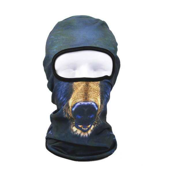 Greatsell 3D Animal Outdoor Ski Masks Bike Cyling Beanies Winter Wind Stopper Face Hats