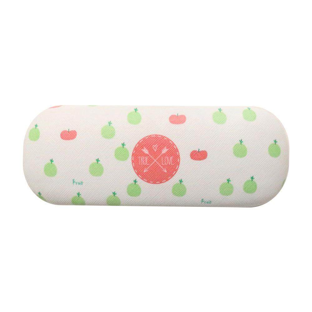 aibowan Cartoon Fruits Printed Glasses Protector Storage Box Protective Hard Shell Glasses Case For Eyeglasses And Sunglasses - intl