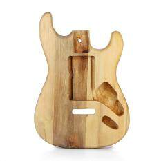 Unfinished DIY Guitar Body Maple Body For Fender ST Style Guitar – intl