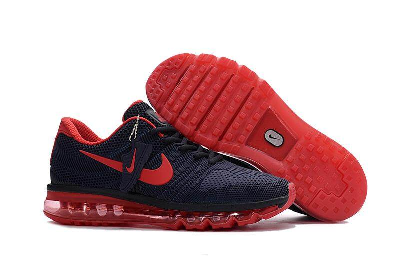 info for d99c8 9246c Nike Air Max 2017 Men s Running Shoes Fashion Sneakers (Red Blue)
