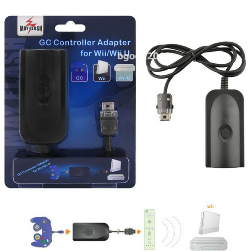 MayFlash GC Gamecube Controller Adapter Converter for Wii / Wii U Cable Cord US - intl