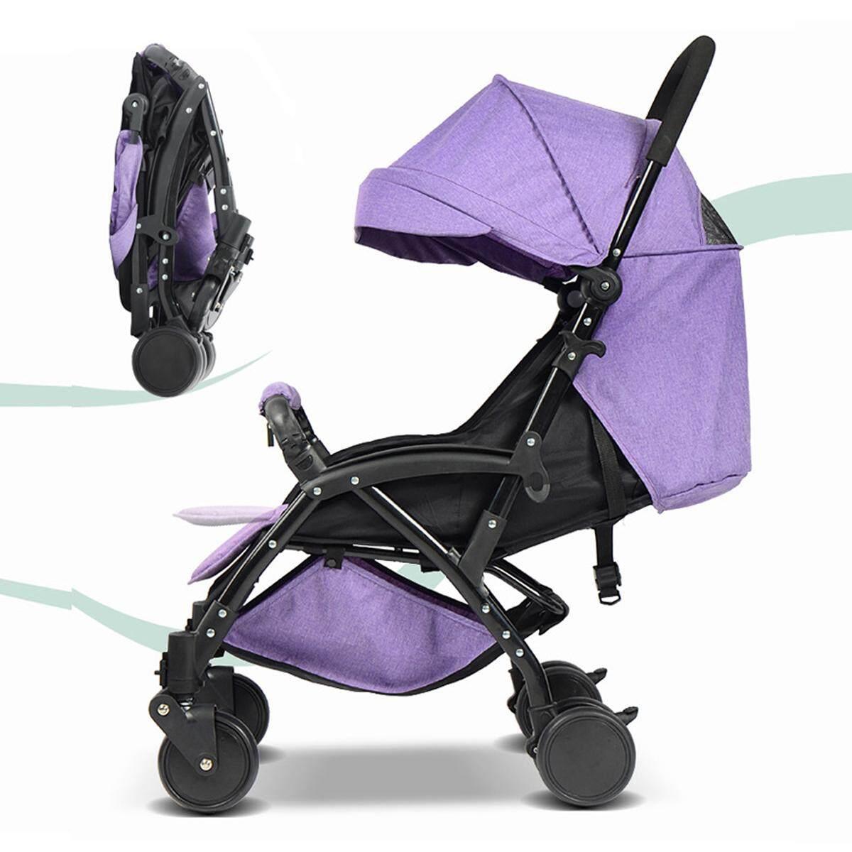ขอโค๊ดส่วนลด Unbranded/Generic รถเข็นเด็กสามล้อ Lightweight Baby Toddler Stroller Jogger Generic Pram Compact Yoyo Fold Travel มีโปรโมชั่น ลดราคา