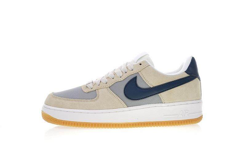 wholesale dealer 0ac11 16891 Nike Air Force 1 Low Men s Lightweight Casual Running Shoe Fashion Sports  Sneakers (Blue