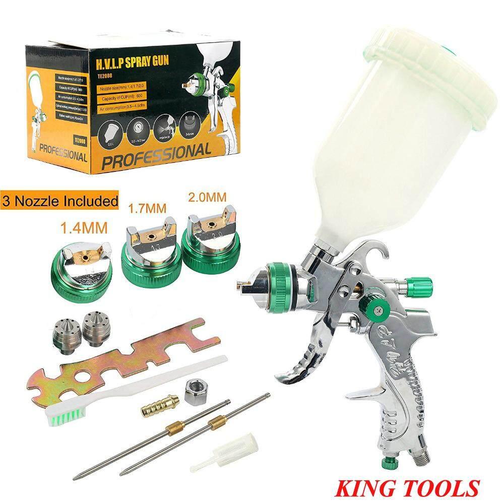 Spray Tools Hvlp Spray Tools Gravity Feed 1 4mm 1 7mm 2 0mm Auto