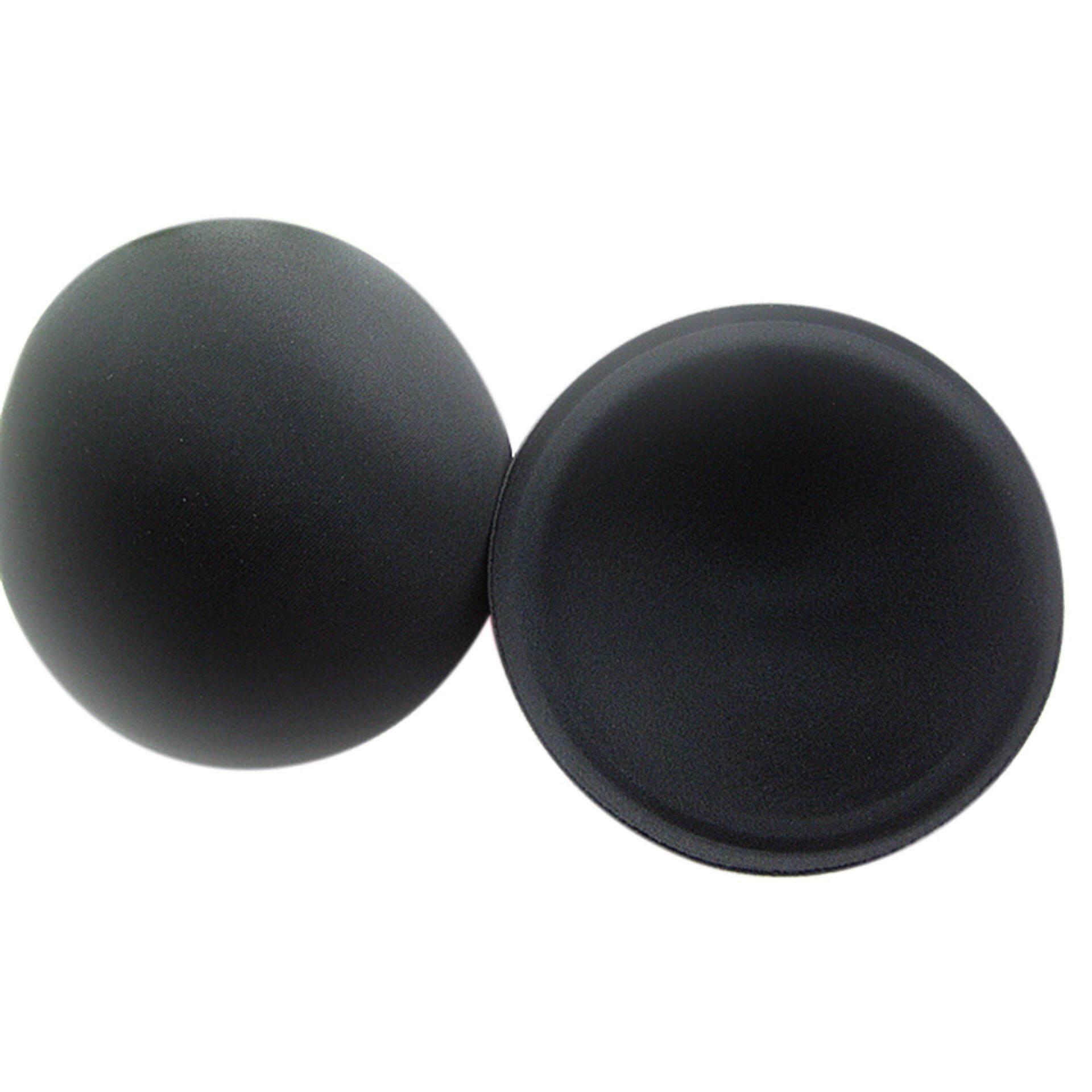 Foam Bra Insert Pads Round Full Cup Bikini Swimsuit Breast Enhancer Push Up Black