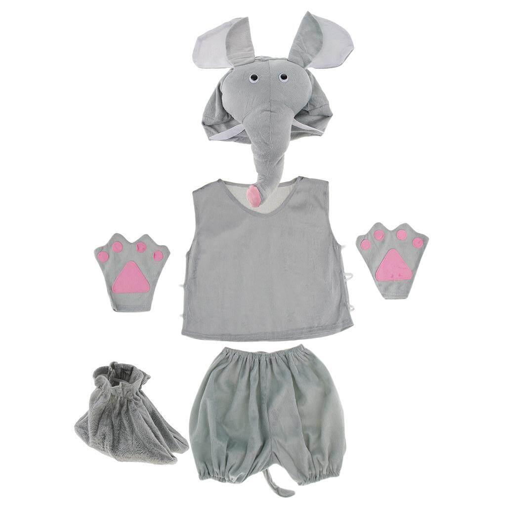 Elephant Jumper Kids Fancy Dress Animal Book Week Boys Girls Childs Costume New