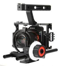 GOFT Strength Aluminum Alloy Camera Follow Focus (Black & White)