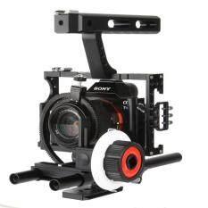 GOFT Strength Aluminum Alloy Camera Follow Focus (Black & White)