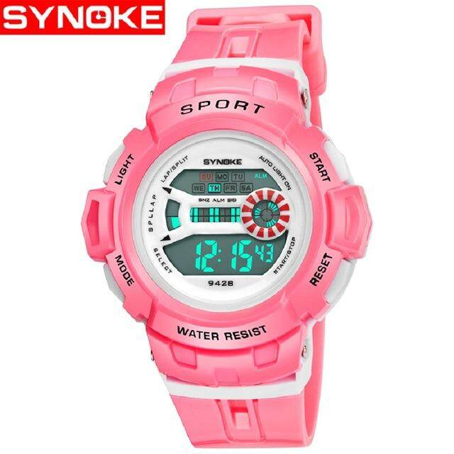 SYNOKE Sport Student Children Watch Kids Watches Boys Clock Child LED Digital Wristwatch Electronic Wrist Watch for Boy Gift - intl