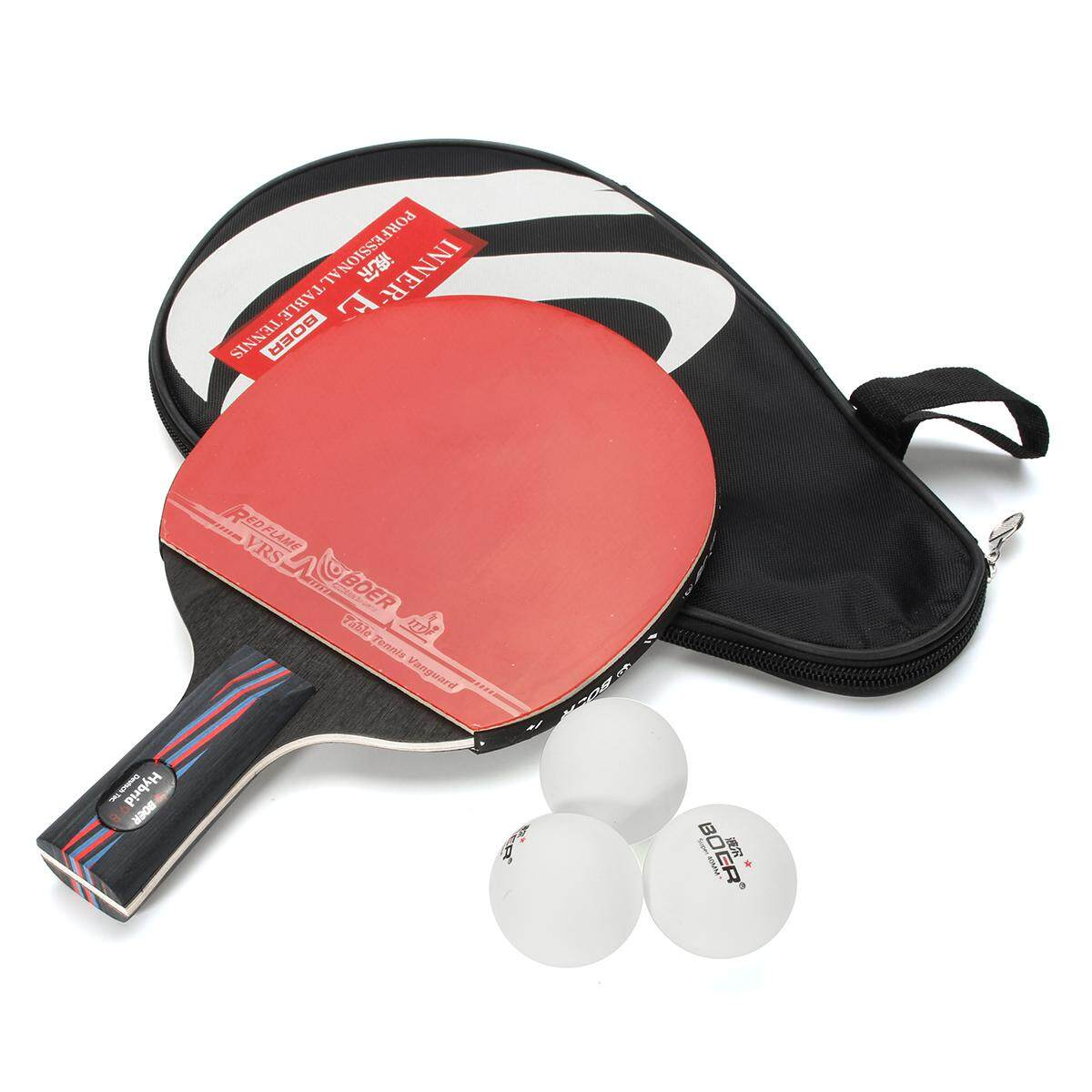 DHS DOUBLE HAPPINESS 6002A TABLE TENNIS LONG STARS PONG PING RACKET HANDLE