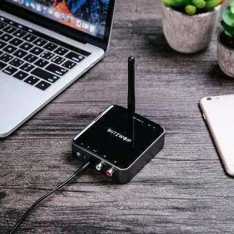 BlitzWolf BW-BR4 bluetooth V5 0 aptX HD Music Receiver Transmitter Audio 2  in 1 Adapter