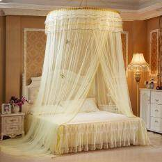 ABH Romantic Hung Dome Mosquito Net Canopy Lace Round Nets – intl