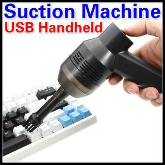 Mini USB Vacuum Cleaner Portable Computer Keyboard Brush Nozzle Dust Collector Handheld Sucker Clean Kit for Cleaning Laptop PC USB Handheld Suction Machine