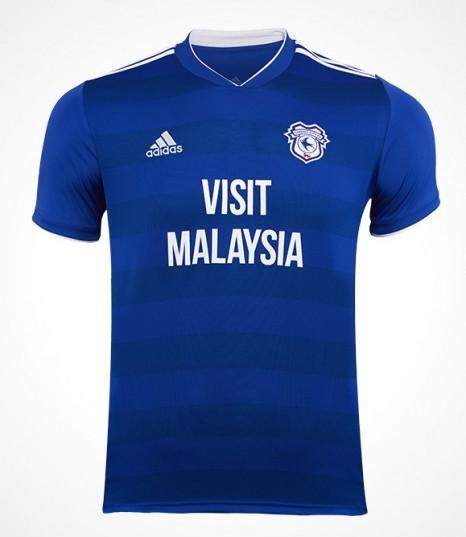 Cardiff City Home 2018/19 Jersey for Men