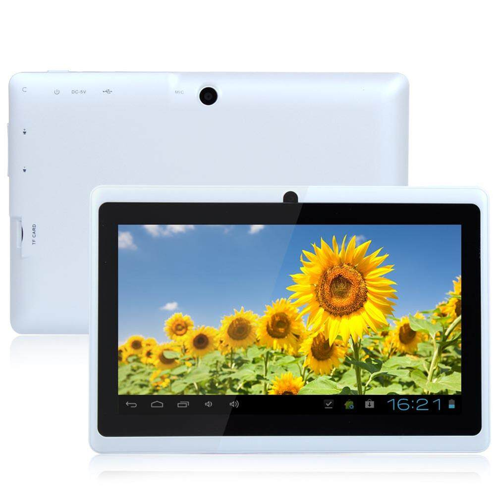 Aukey 7'' Inch A33 Google Android 4.4 Quad Core Dual Camera 8GB WiFi PAD White Tablet
