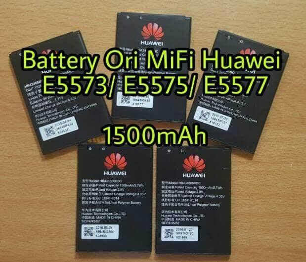 OEM Huawei E5573 E5577 HB434666RBC Wifi Modem Battery 1500mAH