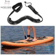 SBY 10ft Surfboard Ankle Leash Rope Coiled Stand Up Paddle Board Surfing Cord String