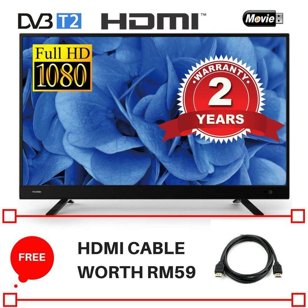 Toshiba 32'' HD Ready LED TV 32L3750VM - 2 Years Local Supplier Warranty