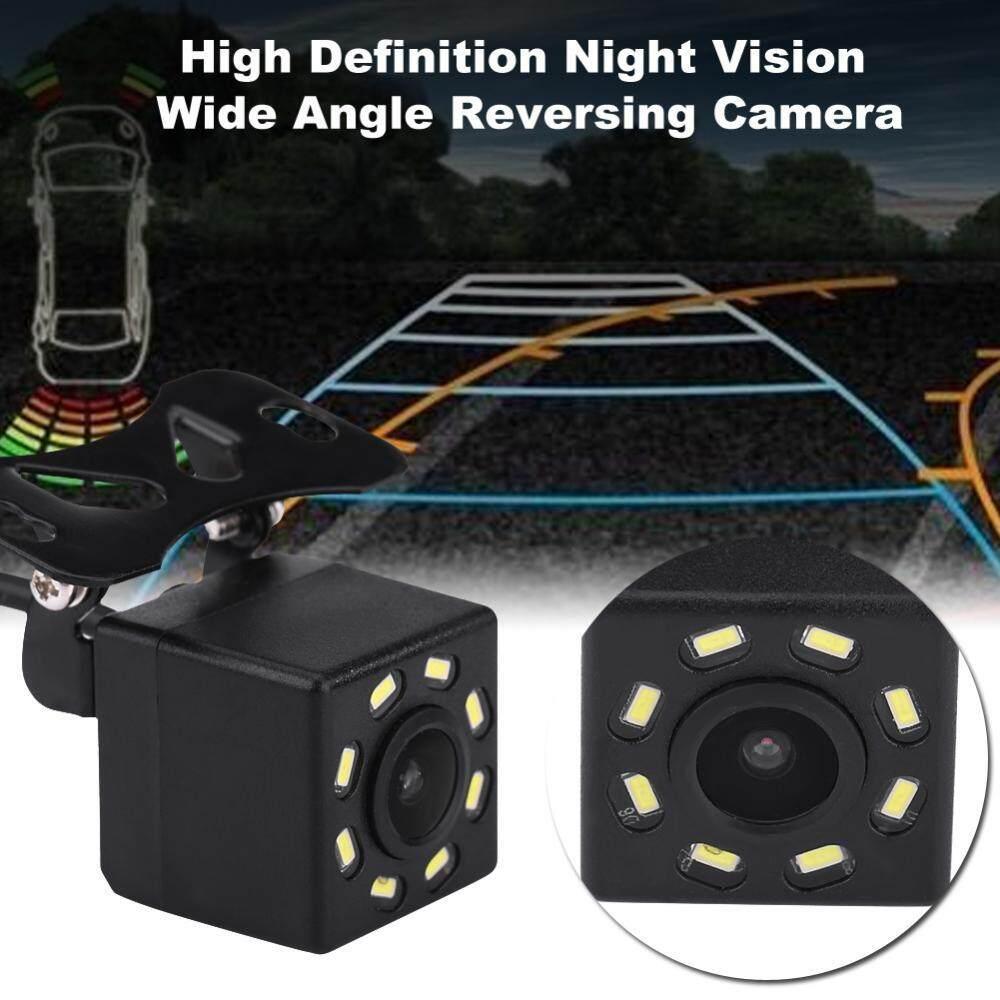 8 LED 170 ° มุมอลูมิเนียมมองหลังถอยหลังกล้องสำรองฟังก์ชั่นมองกลางคืนกันน้ำ - INTL