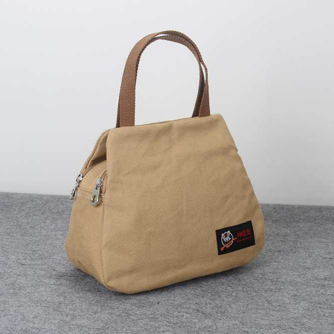 VAKIND Fashion Lady Womens Tote Shoulder Bags New Art Small Fresh Canvas Bag Summer Bag Fashion Lady Handbag Cotton Mama Hand Bag.