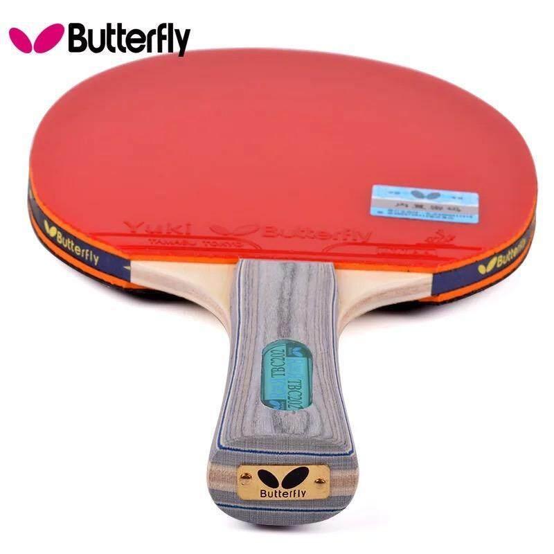 Chất Lượng Hàng Đầu Bướm Bóng Bàn Vợt Ping Pong Bat TBC-202 Grip Bóng Bàn Đào Tạo Với Túi